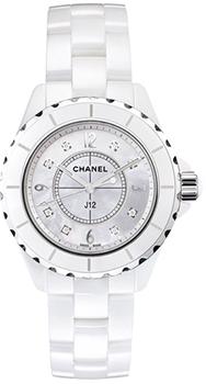 Швейцарские наручные  женские часы Chanel H2422