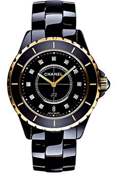 Швейцарские наручные  мужские часы Chanel H2544