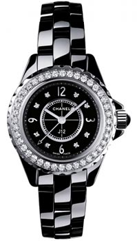 Швейцарские наручные  женские часы Chanel H2571