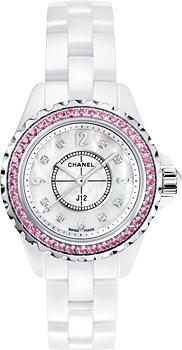 Швейцарские наручные  женские часы Chanel H3243