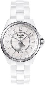 Швейцарские наручные  женские часы Chanel H3837
