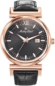 Швейцарские наручные  мужские часы Mathey-Tissot H410PLN. Коллекция Elegance