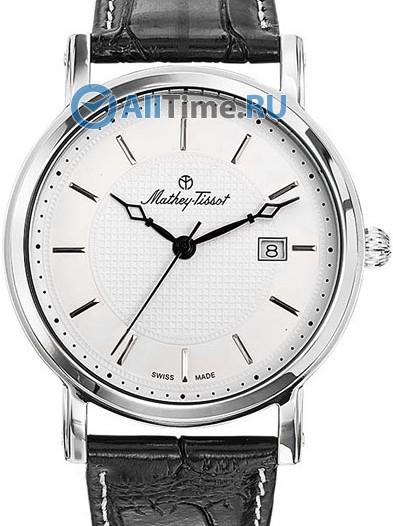 Мужские наручные швейцарские часы в коллекции City Mathey-Tissot