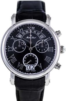 Швейцарские наручные  мужские часы Mathey-Tissot H7030AN. Коллекция Retrograde Chrono