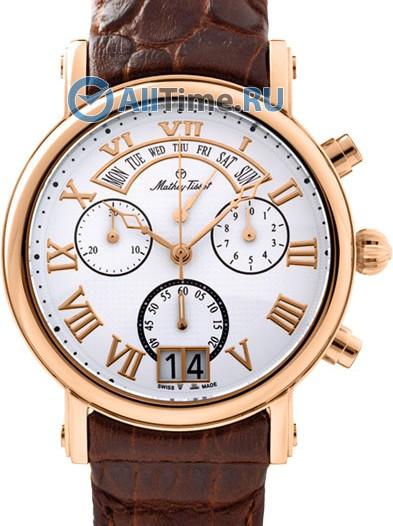 Мужские наручные швейцарские часы в коллекции Retrograde Mathey-Tissot