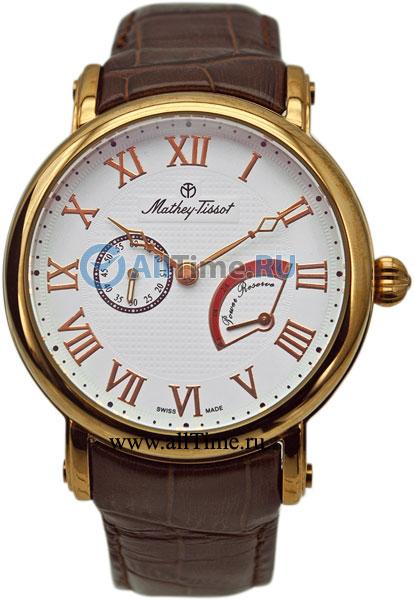 Мужские наручные швейцарские часы в коллекции Power Reserve Auto Mathey-Tissot