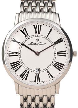 Швейцарские наручные  мужские часы Mathey-Tissot H9315.B6ABR. Коллекция Classic Data