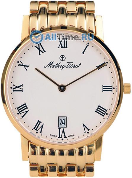 Мужские наручные швейцарские часы в коллекции Classic Date Mathey-Tissot