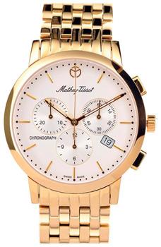Швейцарские наручные  мужские часы Mathey-Tissot H9315CHPI. Коллекция Sport Classic