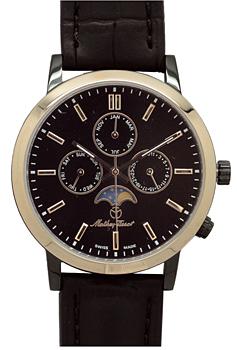Швейцарские наручные  мужские часы Mathey-Tissot H9315RR. Коллекция Classic Moon