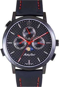 Швейцарские наручные  мужские часы Mathey-Tissot H9315RS. Коллекция Classic Moon
