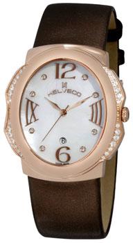 Швейцарские наручные  женские часы Helveco HC21140-28YRA. Коллекция Bale