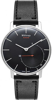 fashion наручные  мужские часы Withings HWA01-Black. Коллекция Activite