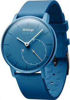 fashion наручные  мужские часы Withings HWA01-POP-Azur. Коллекция Activite POP