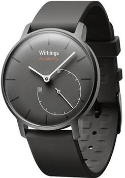 fashion наручные  мужские часы Withings HWA01-POP-GreyShark. Коллекция Activite POP