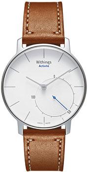 fashion наручные  мужские часы Withings HWA01-Silver. Коллекция Activite