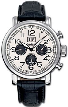 fashion наручные  мужские часы Ingersoll IN1206WH. Коллекция Automatic Gent