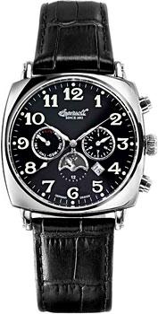 fashion наручные  мужские часы Ingersoll IN1211BK. Коллекция Automatic Gent