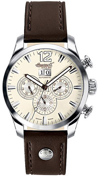 fashion наручные  мужские часы Ingersoll IN1215CR. Коллекция Automatic Gent