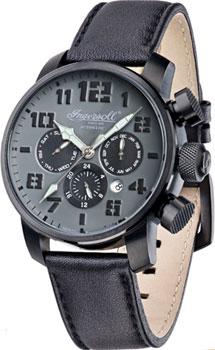 fashion наручные  мужские часы Ingersoll IN1224BKGY. Коллекция Automatic Gent