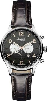 fashion наручные  мужские часы Ingersoll IN1309BK. Коллекция Automatic Gent