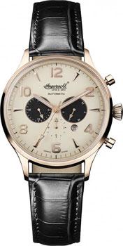 fashion наручные  мужские часы Ingersoll IN1309RCR. Коллекция Automatic Gent