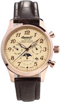 fashion наручные  мужские часы Ingersoll IN1410RCR. Коллекция Santa Anna
