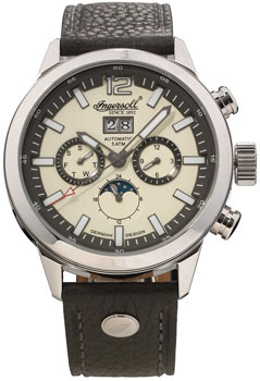 fashion наручные  мужские часы Ingersoll IN1504CH. Коллекция Automatic Gent