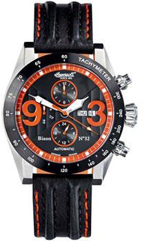 fashion наручные  мужские часы Ingersoll IN1620BKOR. Коллекция Bison