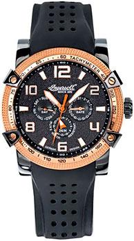 fashion наручные  мужские часы Ingersoll IN1621BK. Коллекция Bison