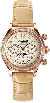 fashion наручные  женские часы Ingersoll IN2711RG. Коллекция Automatic Lady
