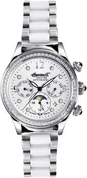 fashion наручные  женские часы Ingersoll IN2711WHMB. Коллекция Automatic Lady