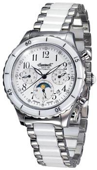fashion наручные  женские часы Ingersoll IN2712WHMB. Коллекция Automatic Lady