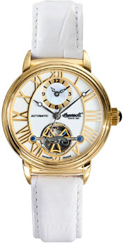 fashion наручные  женские часы Ingersoll IN5004GWH. Коллекция Automatic Lady