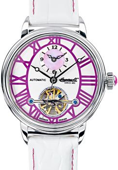 fashion наручные  женские часы Ingersoll IN5004PU. Коллекция Automatic Lady