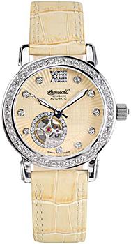 fashion наручные  женские часы Ingersoll IN7215YL. Коллекция Automatic Lady