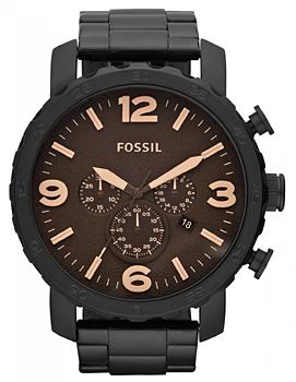 fashion наручные  мужские часы Fossil JR1356. Коллекция Nate