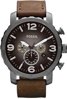 fashion наручные  мужские часы Fossil JR1424. Коллекция Nate
