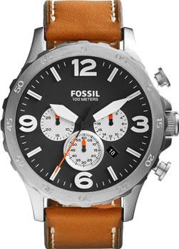 fashion наручные  мужские часы Fossil JR1486. Коллекция Nate