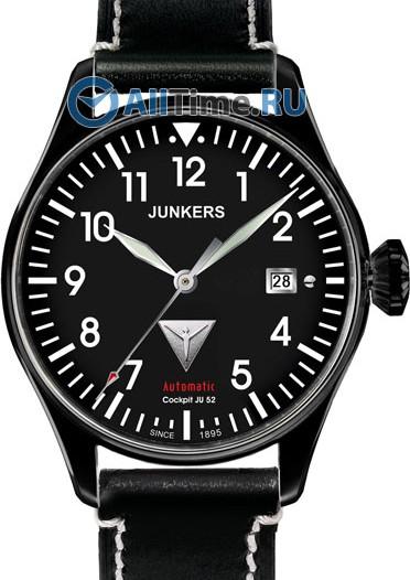 Мужские наручные немецкие часы в коллекции Cockpit JU52 Junkers