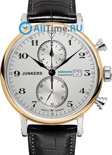 Мужские наручные немецкие часы в коллекции Expedition South America Junkers