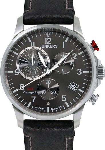 Мужские наручные немецкие часы в коллекции Worldtimer Junkers