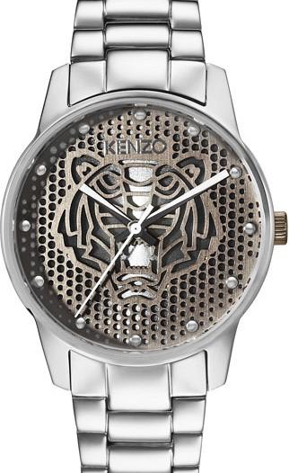 Женские наручные fashion часы в коллекции Abstract Tiger Kenzo
