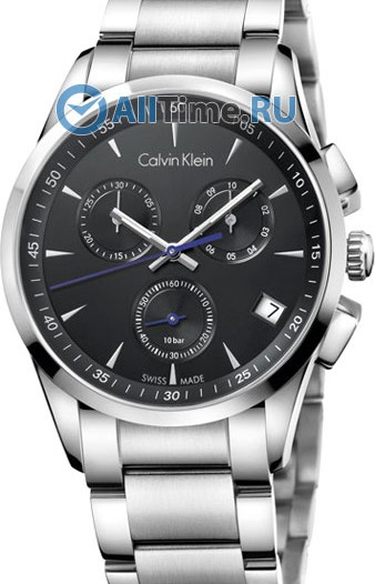 Мужские наручные fashion часы в коллекции Bold Calvin Klein