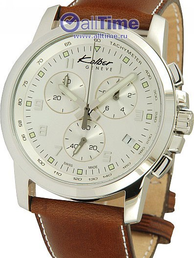 Мужские наручные швейцарские часы в коллекции Les Sportives Kolber