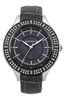 fashion наручные  женские часы Karen Millen KM102BB. Коллекция Classic