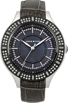 fashion наручные  женские часы Karen Millen KM102BBX. Коллекция Be in trend