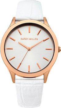 fashion наручные  женские часы Karen Millen KM106WRG. Коллекция SS-15