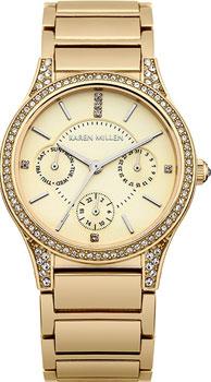 fashion наручные  женские часы Karen Millen KM107GM. Коллекция AW-4