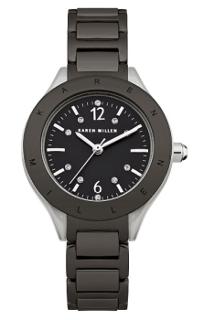 fashion наручные  женские часы Karen Millen KM109BM. Коллекция Classic